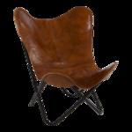 Vlinderstoel Buffalo Bruin