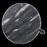 Tafel marmer grijs Ø60cm