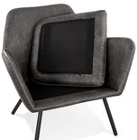 Fauteuil LUFT Donkergrijs