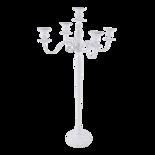 Kandelaar Classic alu wit 144cm