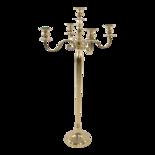 Kandelaar Classic alu goud 144cm