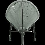 Draadstoel Gio grijs