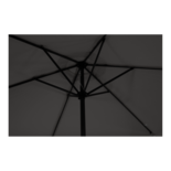 Parasol Gemini grijs Ø3mtr
