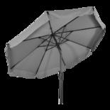Parasol Libra grijs Ø3mtr