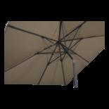 Parasol Libra taupe 2,5x2,5mtr