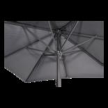 Parasol Virgo grijs 3x3mtr