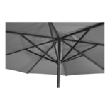 Parasol Virgo grijs Ø4mtr