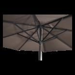 Parasol Virgo taupe Ø4mtr