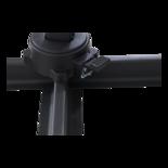 Zweefparasol Libra taupe 2,5x2,5mtr