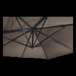 Zweefparasol Scorpio taupe 3x4mtr