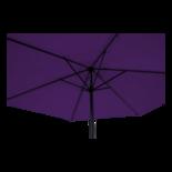 Parasol Gemini paars Ø3mtr (geretourneerd artikel)