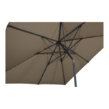 Parasol Libra taupe 2,5x2,5mtr (showroommodel)
