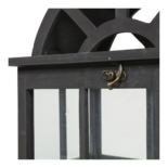 Windlicht Culto hout (set van 3)