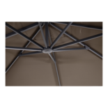 Outdoor Living - Zweefparasol Taurus taupe 3x4mtr