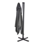 Outdoor Living - Zweefparasol Taurus grijs 3x3mtr