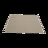 Outdoor Living - Plaid Pompon brown 125x150cm