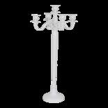 Outdoor Living - Kandelaar Classic alu wit 78cm
