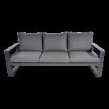 Outdoor Living - Loungebank Pina Colada Negro 209x80cm