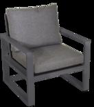 Outdoor Living - Loungestoel Pina Colada Negro