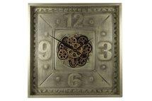Countryfield - Klok Huntington brons 70 x 70 x 10,5cm
