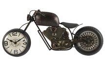 Countryfield - Tafelklok motor Blaine bruin-brons-wit