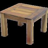 Salontafel Serra acacia hout 60x60cm