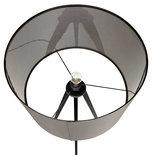 Vloerlamp TRIVET Grijs-Zwart