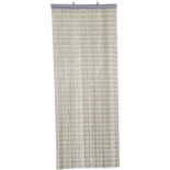 Deurgordijn PVC Tube beige 90x220cm, 77s
