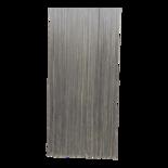 Deurgordijn PVC Spaghetti grijs 100x230cm, 400s