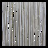 Deurgordijn PVC Spaghetti wit 90x220cm, 360s