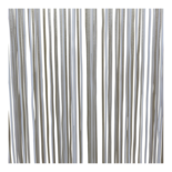 Deurgordijn PVC Spaghetti wit 100x230cm, 400s
