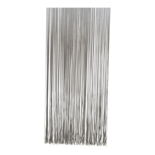 Deurgordijn PVC Spaghetti grijs 90x220cm, 360s