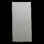 Deurgordijn PVC Twist wit 100x230cm, 133s