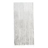 Deurgordijn PVC Twist wit 90x220cm, 120s