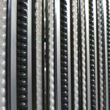 Deurgordijn PVC Tris antraciet/grijs 90x220cm, 32s