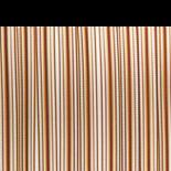 Deurgordijn PVC Tris bruin 90x220cm,32s