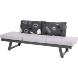 Loungebank Mojito Negro 65x200cm
