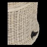Loungetafel verstelbaar Soho Beach, Cherryboard blad, Ø100cm
