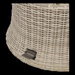Loungetafel verstelbaar Soho Beach,  Ø100cm