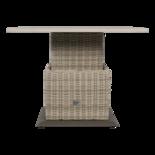 Loungetafel verstelbaar Soho Beach, 90x90cm