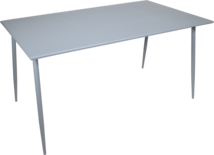 Tafel Da Vinci 140x80x73cm blueberry grey