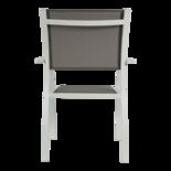 Stapelstoel Aspen grijs