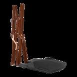 Vlinderstoel Grijs Gemeleerd