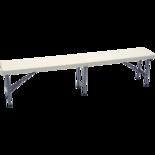 Bench retractable, 183x30cm ,
