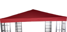 Paviljoendak Royal bordeaux, voor art 42431 waterafstotend