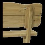 Weidebank naaldhout 120cm