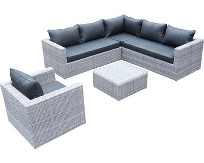 Loungeset Emely 5 Delig