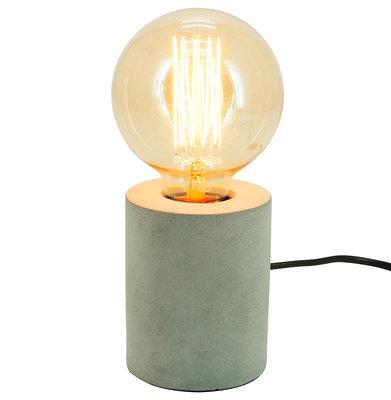 Tafellamp LUCHE Cement / Kwarts