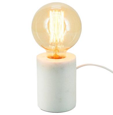 Tafellamp LUCHE Wit Marmer