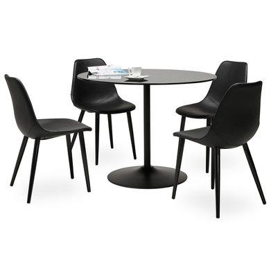 Eettafel BLOMA Zwart